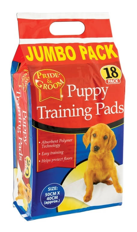 Pride Groom Puppy Training Pad - Pack 18