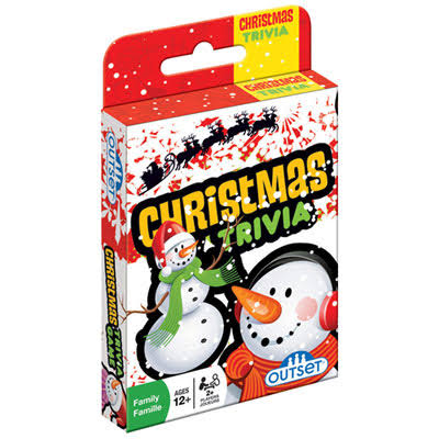 Outset Christmas Trivia Card Game