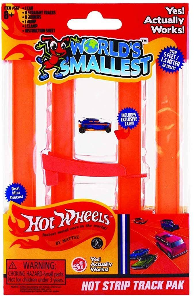 World's Smallest Hot Wheels Hot Strip Track Pak