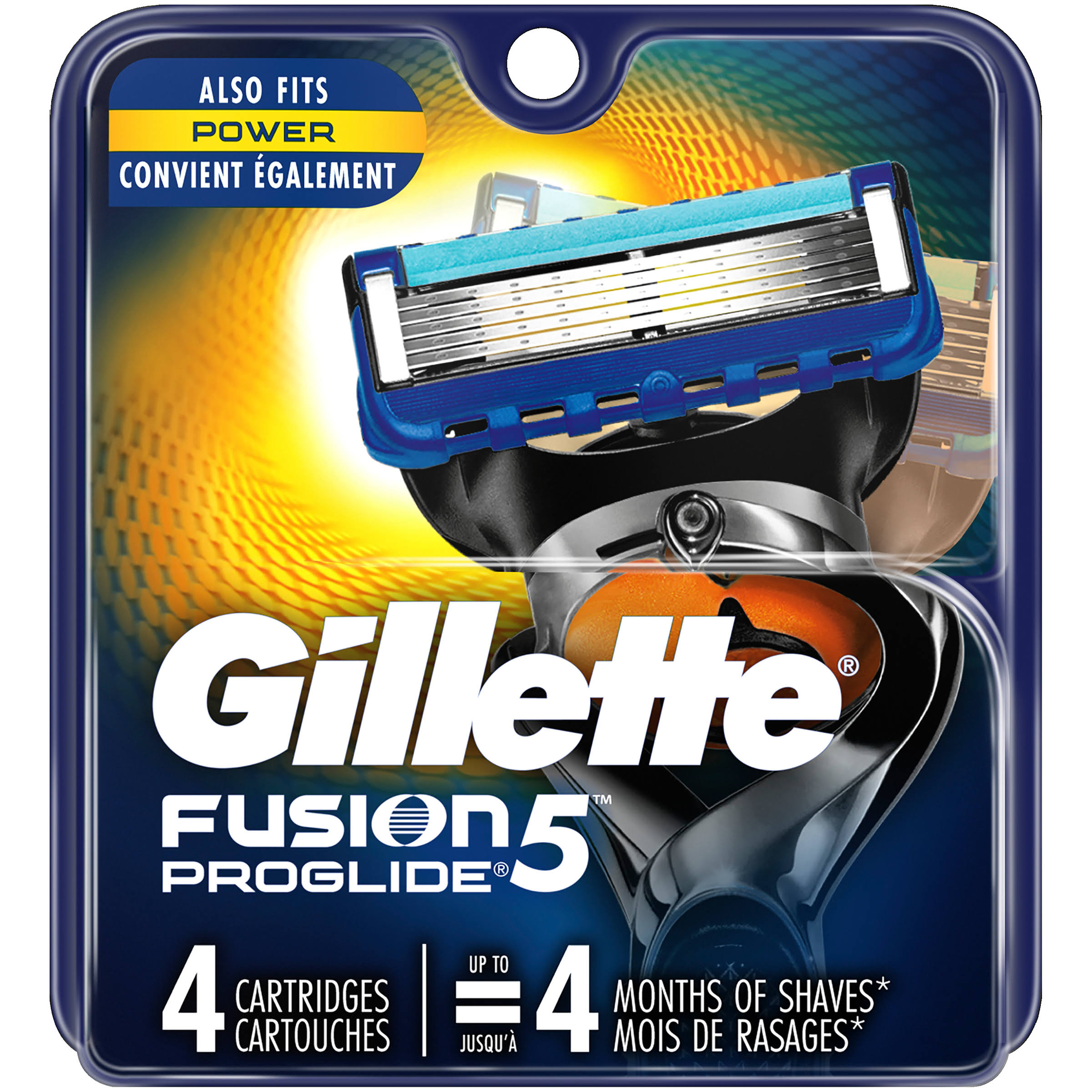 Gillette Fusion Proglide Cartridge - 4ct