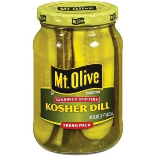 Mt. Olive Sandwich Stuffers Kosher Dill Fresh Pack - 16 fl oz