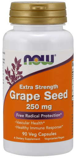 Now Grape Seed Extract 250mg - 90 Capsules