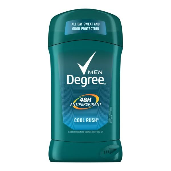 Degree Men's Dry Protection Antiperspirant Deodorant - Cool Rush, 2.7oz