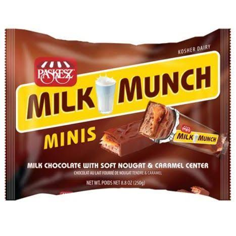 Paskesz Minis Milk Munch - 8.8 oz packet