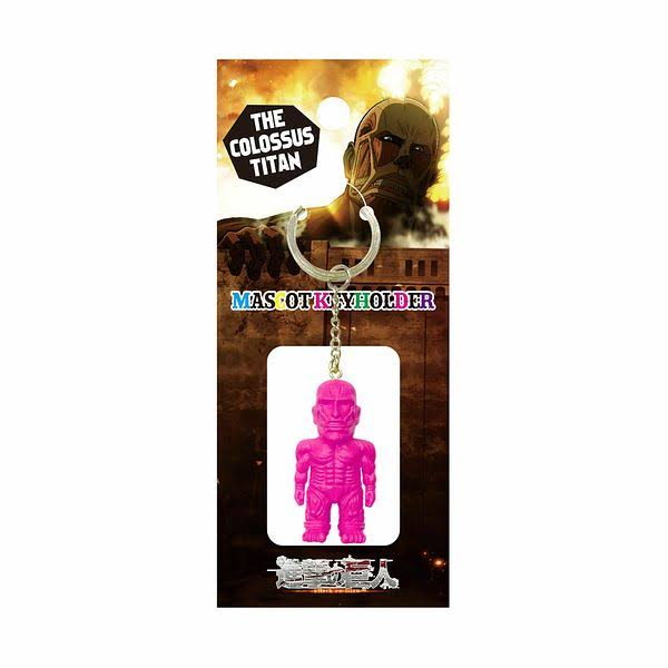 Attack on Titan: Pink Colossal Titan Key Chain by Empty