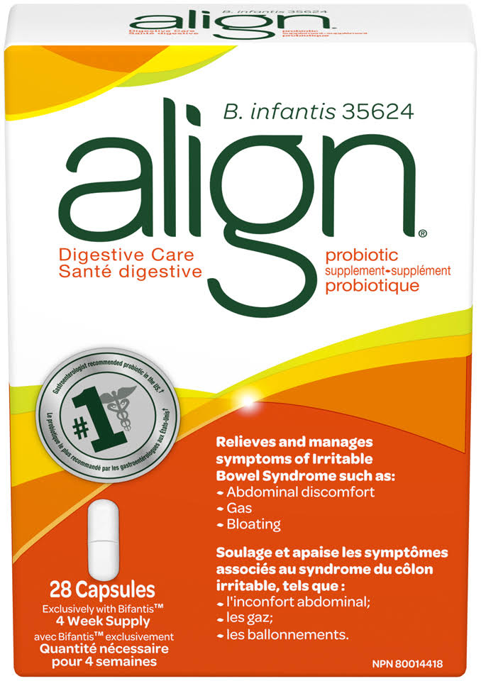 Align Probiotic With Irritable Bowel Syndrome Support - 28ct