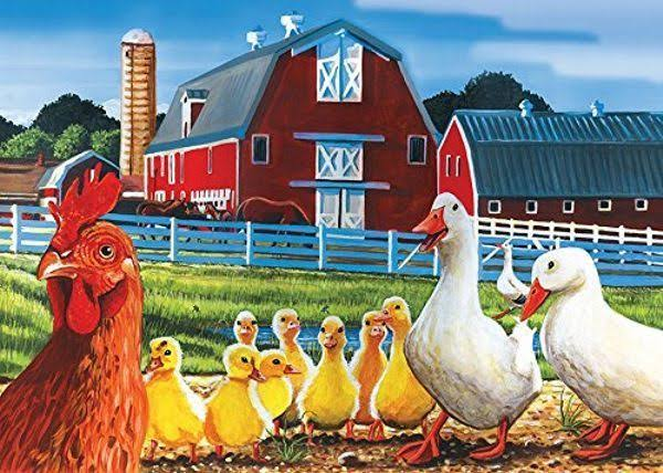 Cobble Hill Dwight's Ducks Jigsaw Puzzle - 35pcs