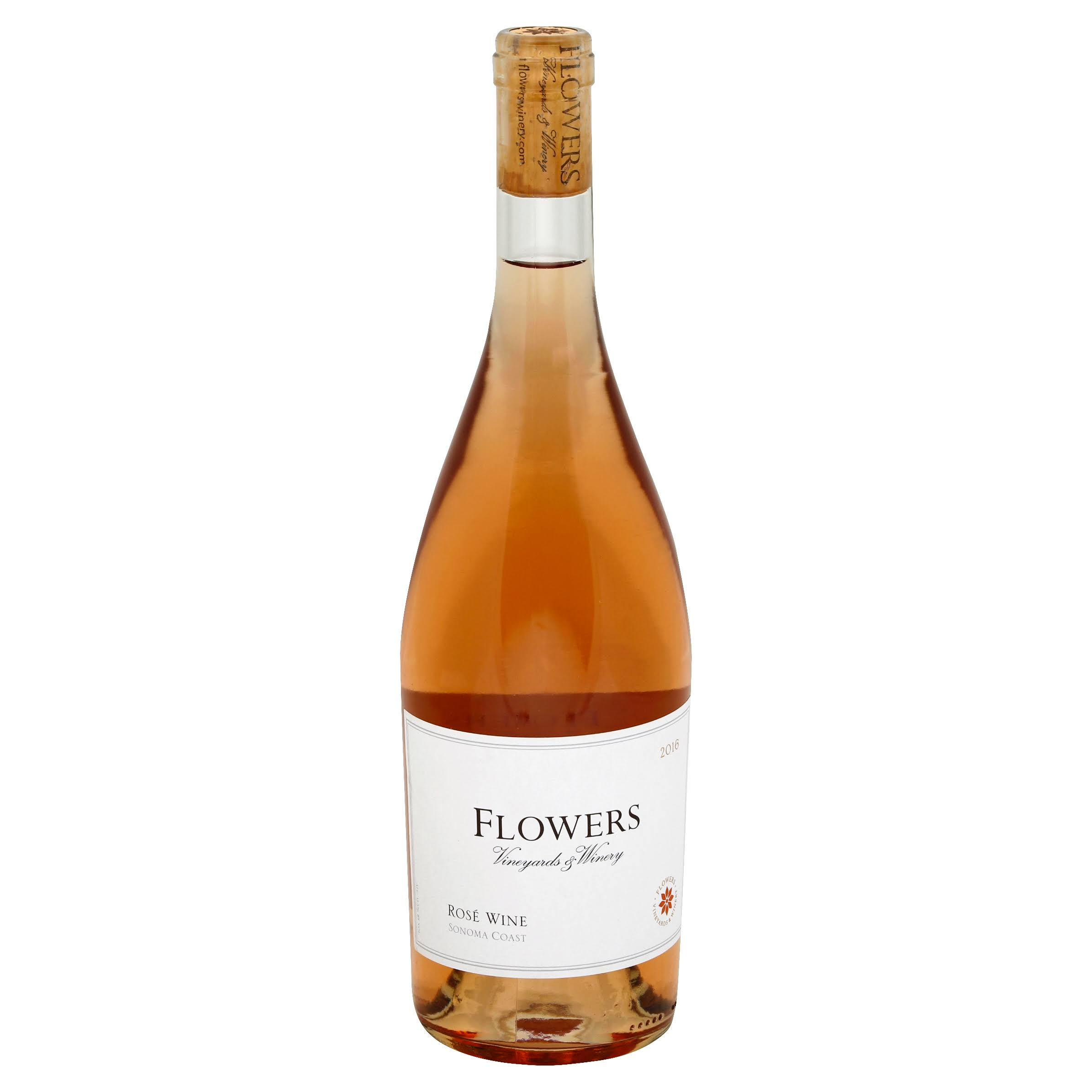 Flowers Rose of Pinot Noir, Sonoma Coast, 2016 - 750 ml