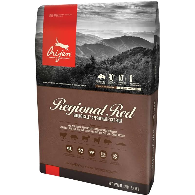 Orijen Regional Red Dry Cat Food - 4 lb bag