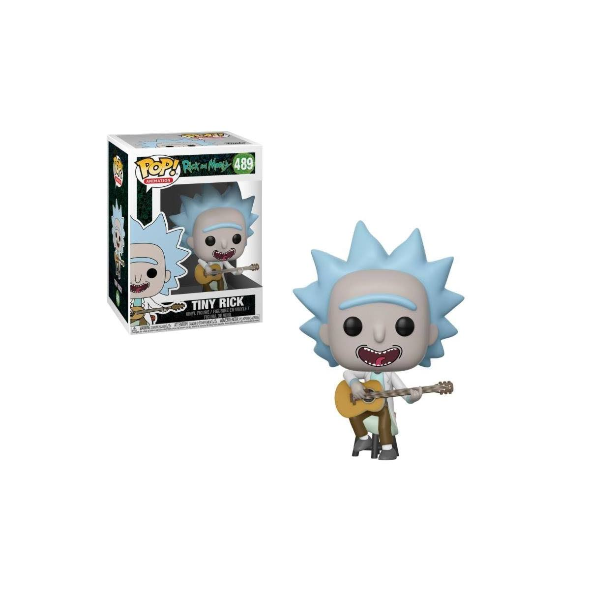 Rick and Morty Tiny Rick with Guitar Pop! Vinyl