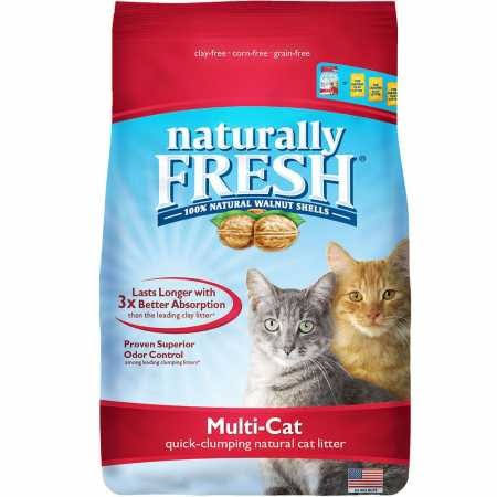 14 lbs Naturally Fresh Multi-Cat Quick-Clumping Litter