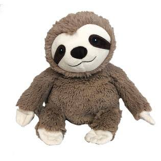 Warmies Microwavable French Lavender Scented Plush Soft Toy - Sloth