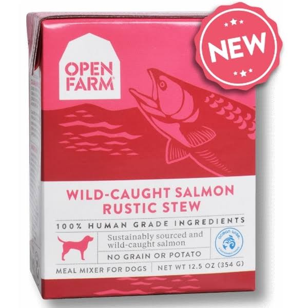 Open Farm Rustic Stew Wild-Caught Salmon Dog Food, 12.5 oz