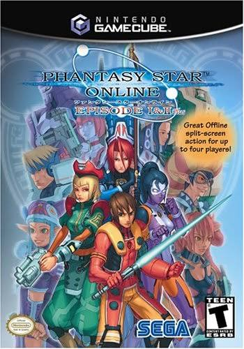 Phantasy Star Online: Episode I and II - Nintendo GameCube