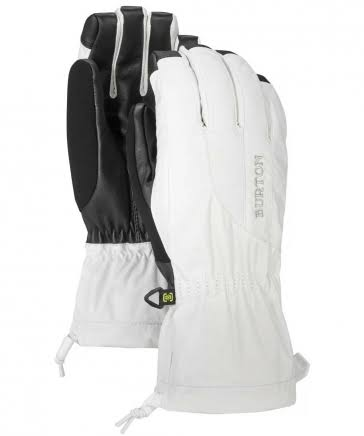 Burton Women's Profile Glove, Stout White, M