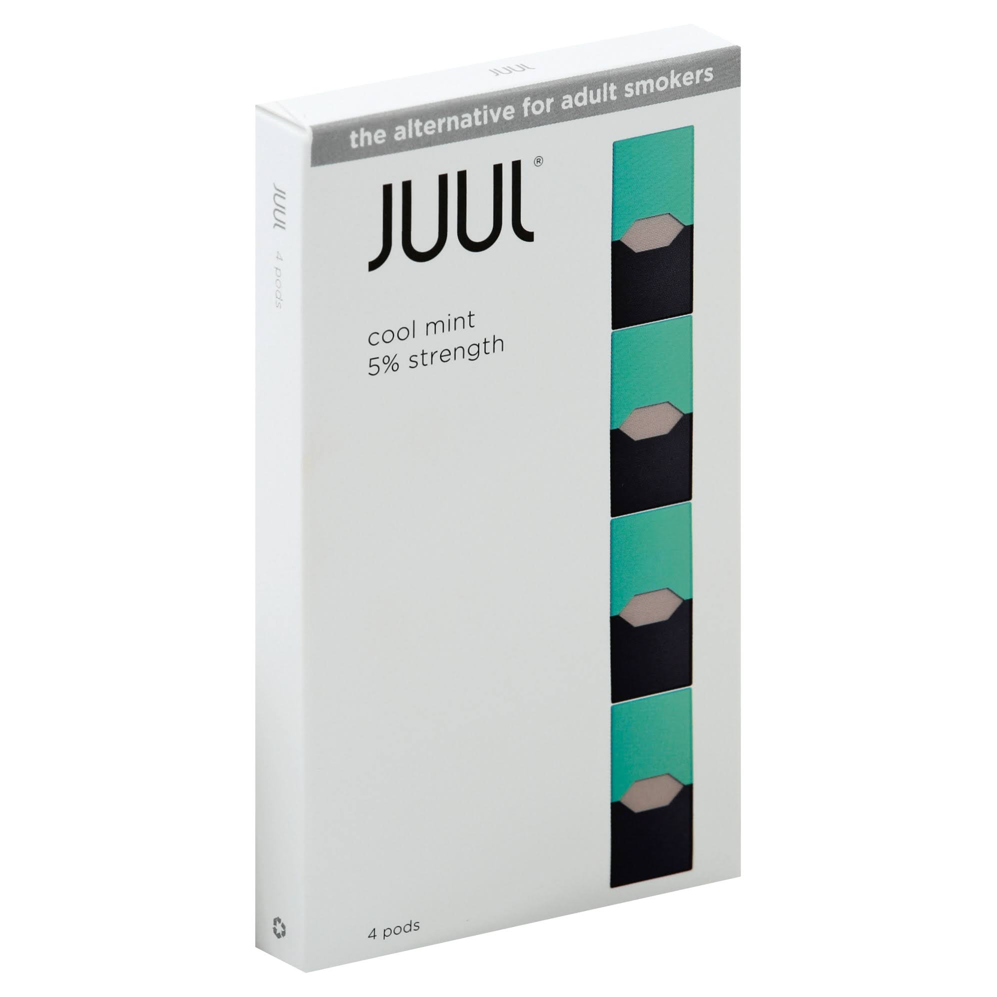 JUUL Pods, Cool Mint - 4 pods