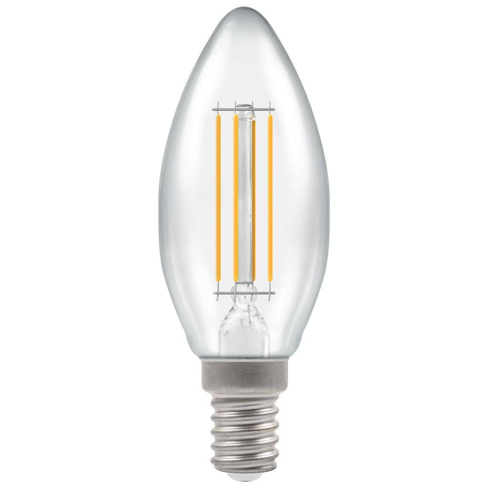 Crompton E14 Dimmable LED Filament Candle - 5w