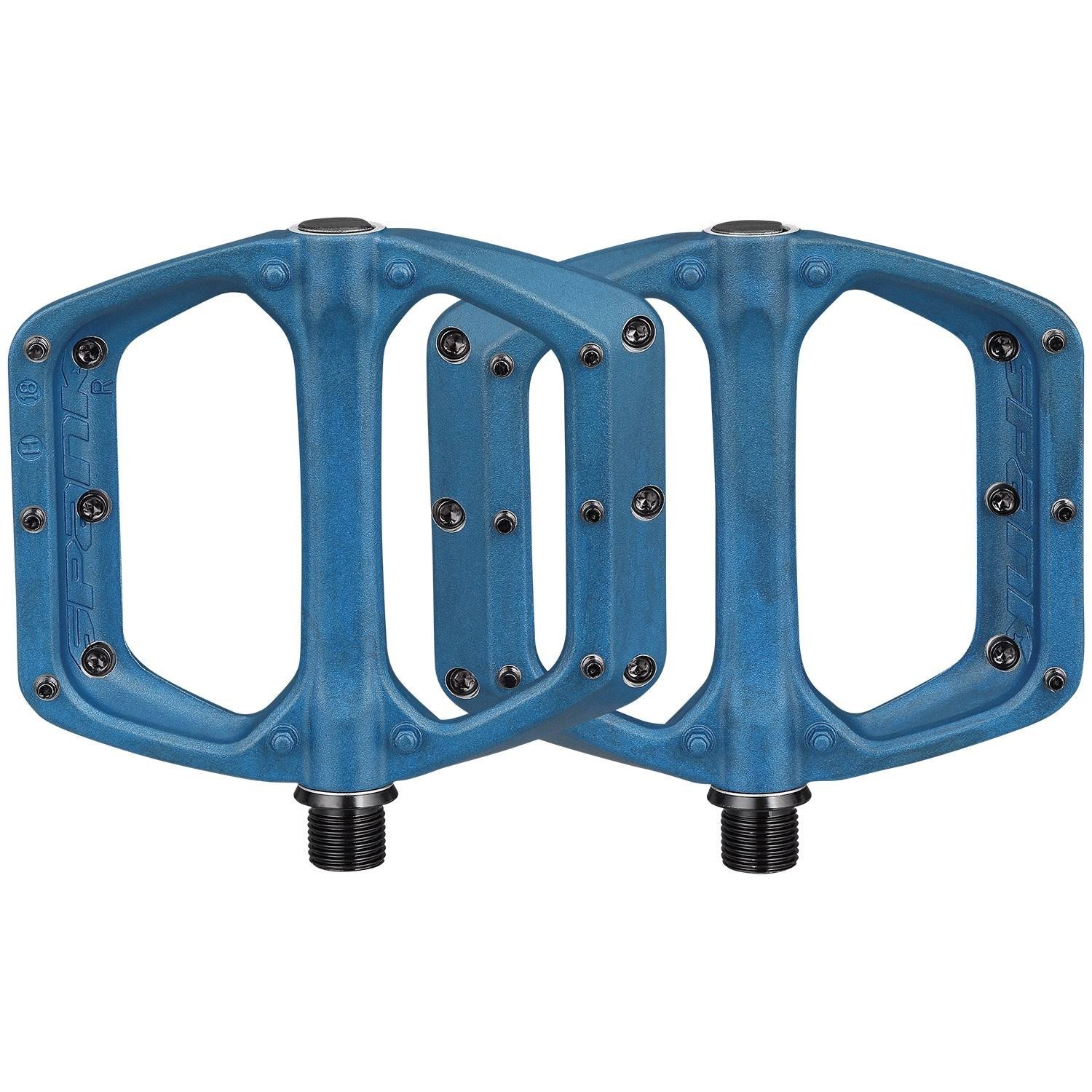 Spank Spoon DC Pedals - Blue