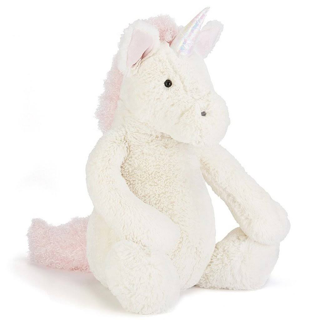 Jellycat Bashful Unicorn Plush Toy - Large, 14""