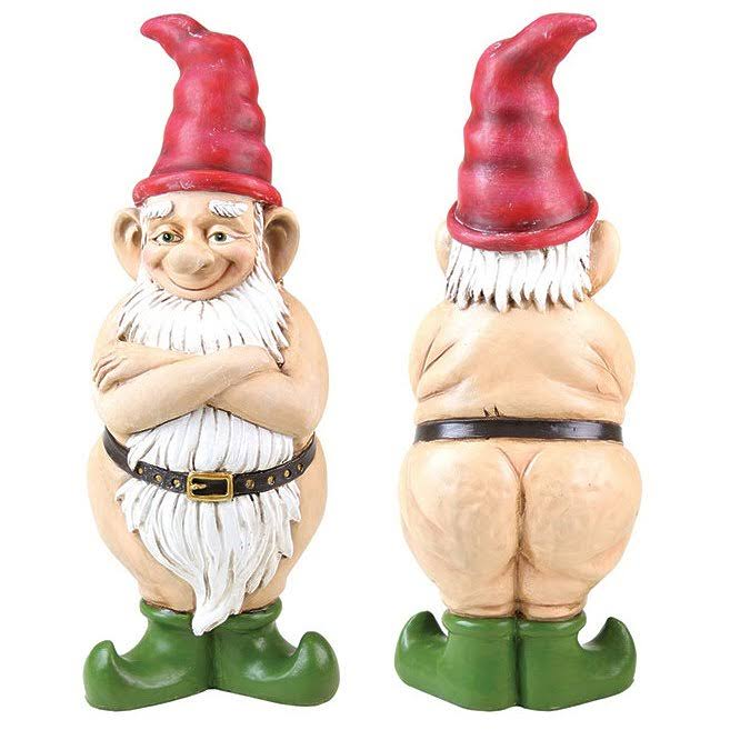 Exhart Naked Gnome