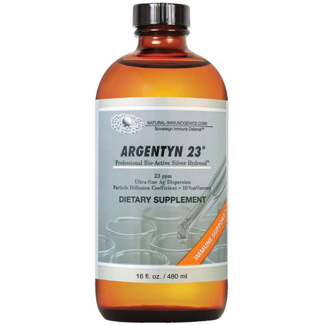 Natural-Immunogenics Argentyn 23 Dietary Supplement - 16oz
