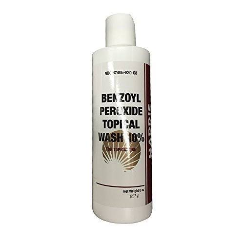 Benzoyl Peroxide Topical Wash 10 Percent - 8 oz