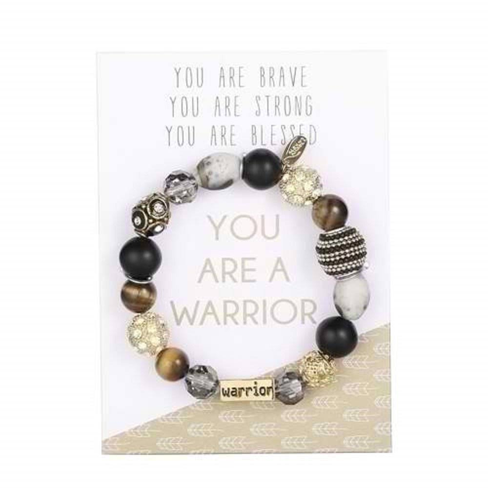 "Alexa's Angels 7"" Warrior Bracelet stretch/carded"