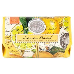 Michel Design Works Large Bar Shea Butter Soap - Lemon Basil