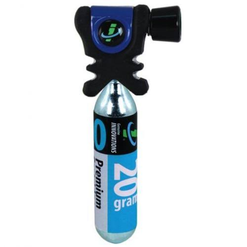 Genuine Innovations Air Chuck Plus (Black/Blue) CO2 Inflator