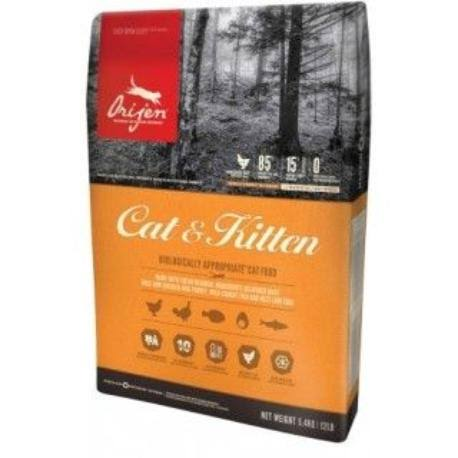 Orijen Cat & Kitten Food 5.4kg