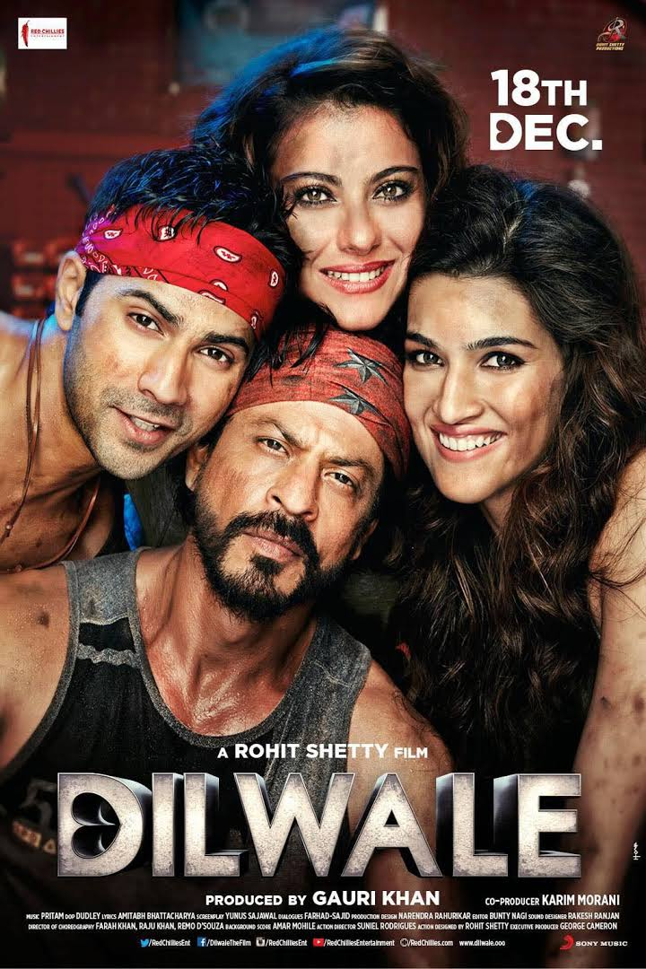 Dilwale 2015 Full Hindi Movie Download Watch Online HD DVDRip