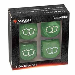 Mtg Deluxe Loyalty Dice - Green