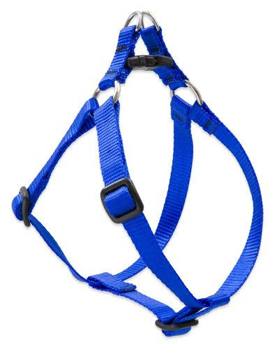 "Lupine Step-in Harness Dogs - Small, Blue, 1/2"" X 10""-13"""