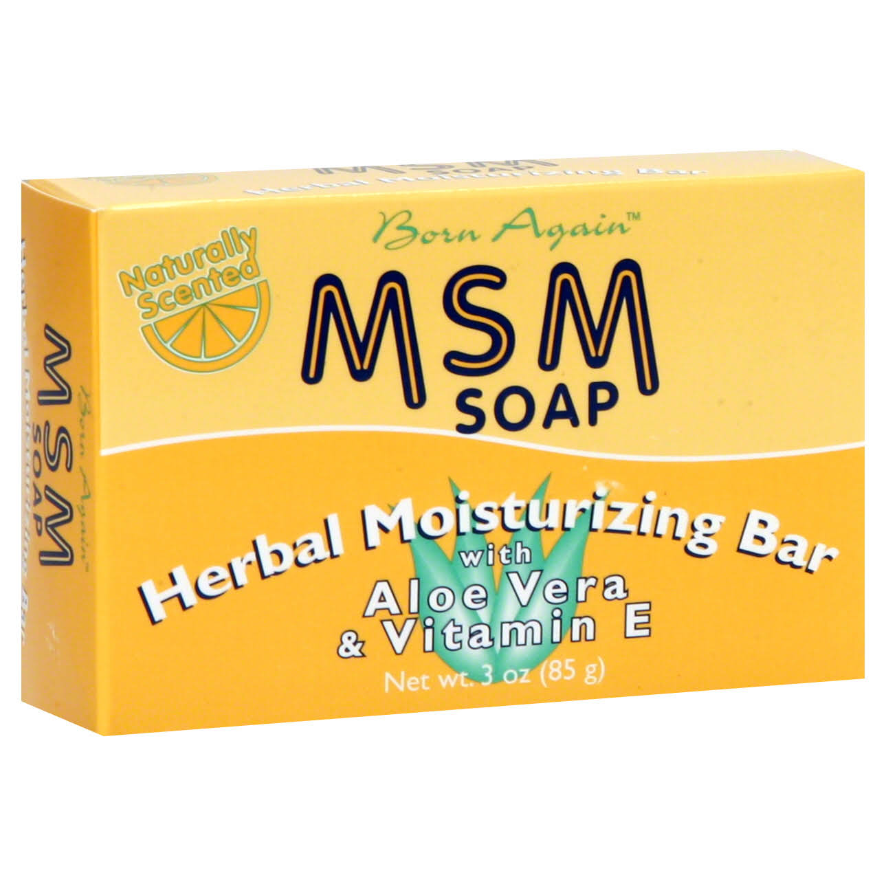 MSM Herbal Moisturizing Bar - 3 oz