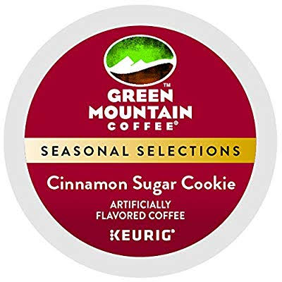 Green Mountain Coffee Cinnamon Sugar Cookie Coffee K-cups - 24ct