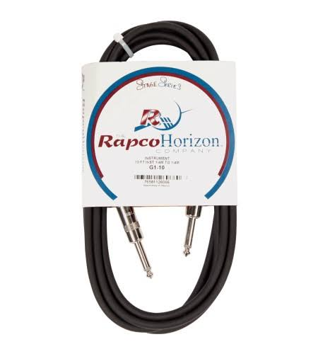 RapcoHorizon G1-10 Guitar Cable - 10ft