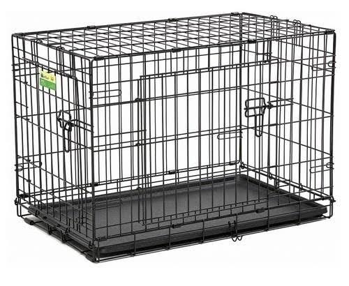 "Midwest 30"" Contour Dbl Door Dog Crate"