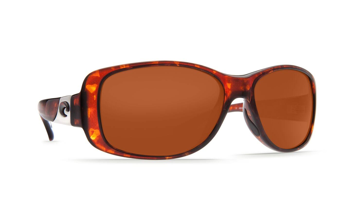 Costa Del Mar Tippet Sunglasses - Tortoise, Copper 580P Lens