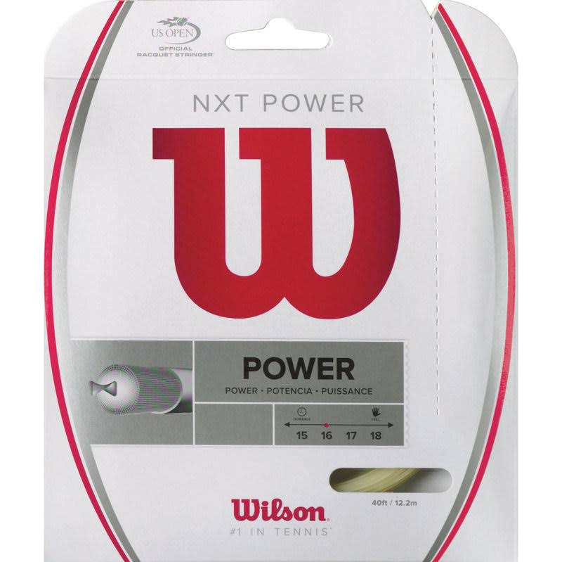 Wilson Nxt Power Tennis String