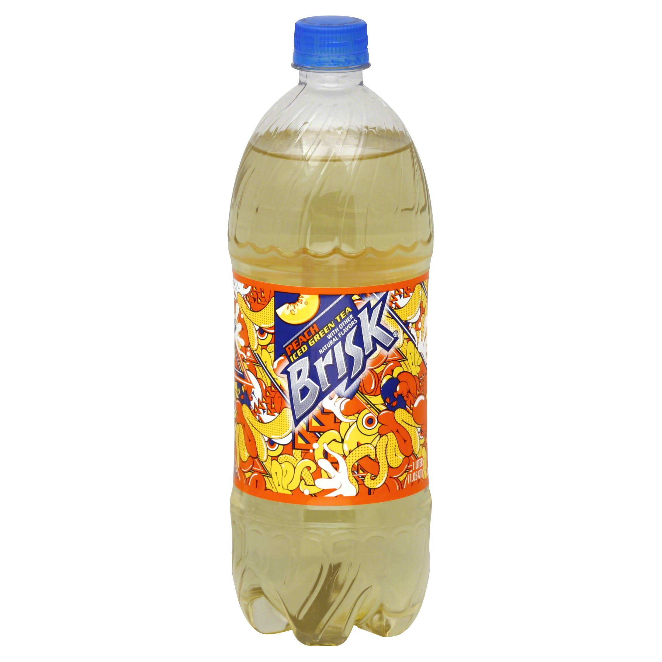 Lipton Brisk Iced Tea - 1l, Peach