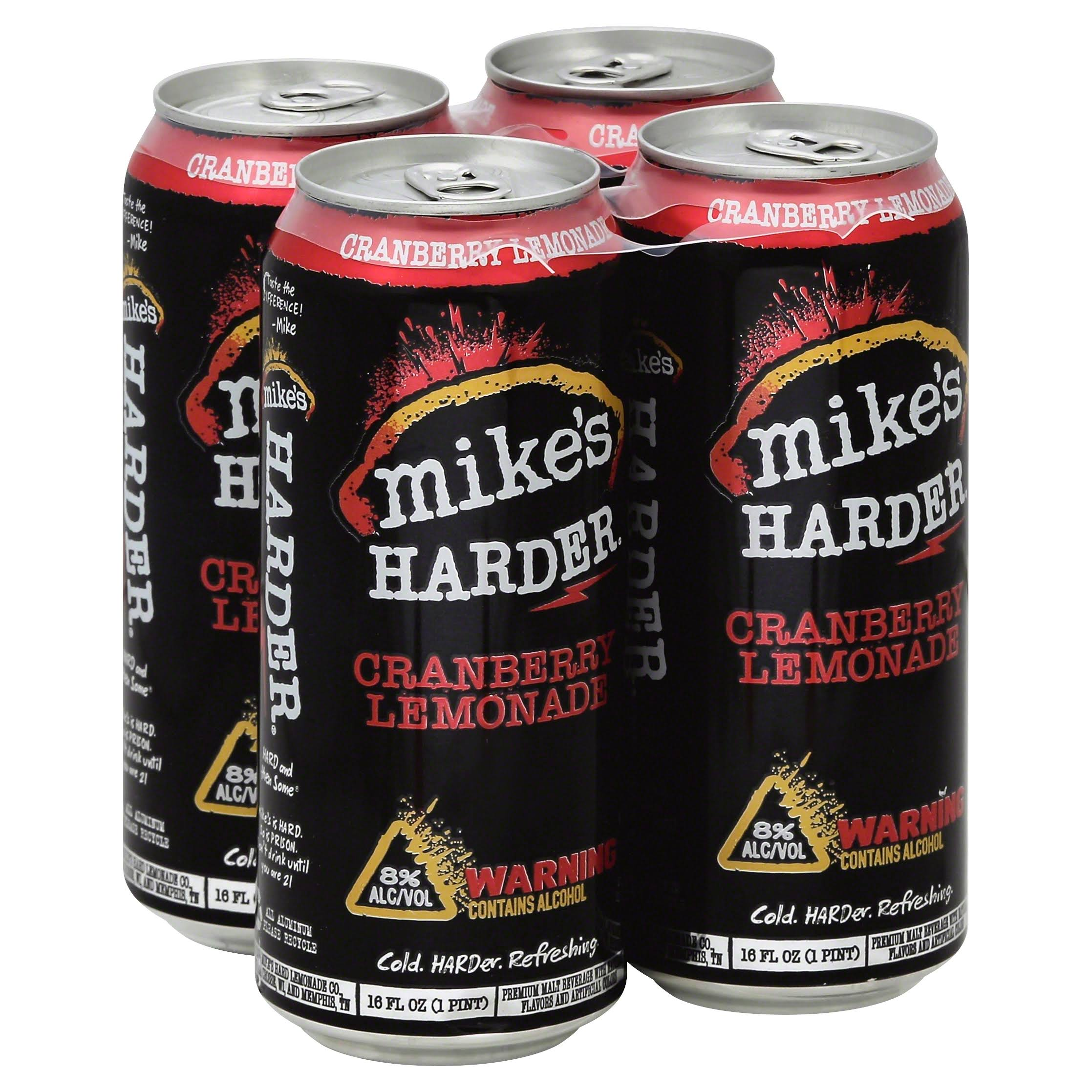 Mike's Harder Drink - Cranberry Lemonade