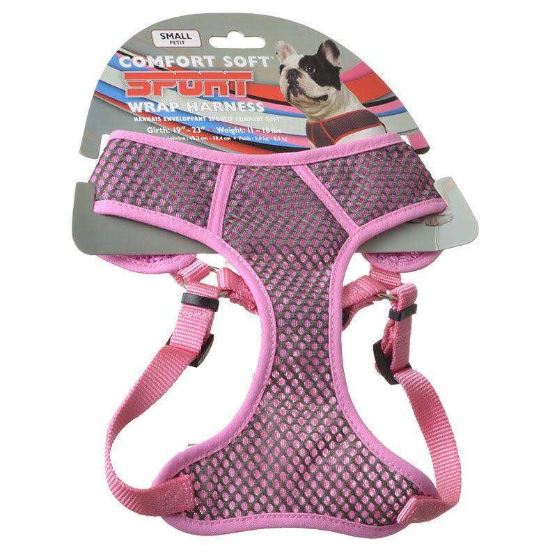 Coastal Pet Sport Comfort Harness - Gray and Pink, Small