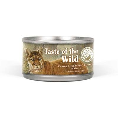 Kennelpak Taste of The Wild Cat Food - Canyon River in Gravy, 85g