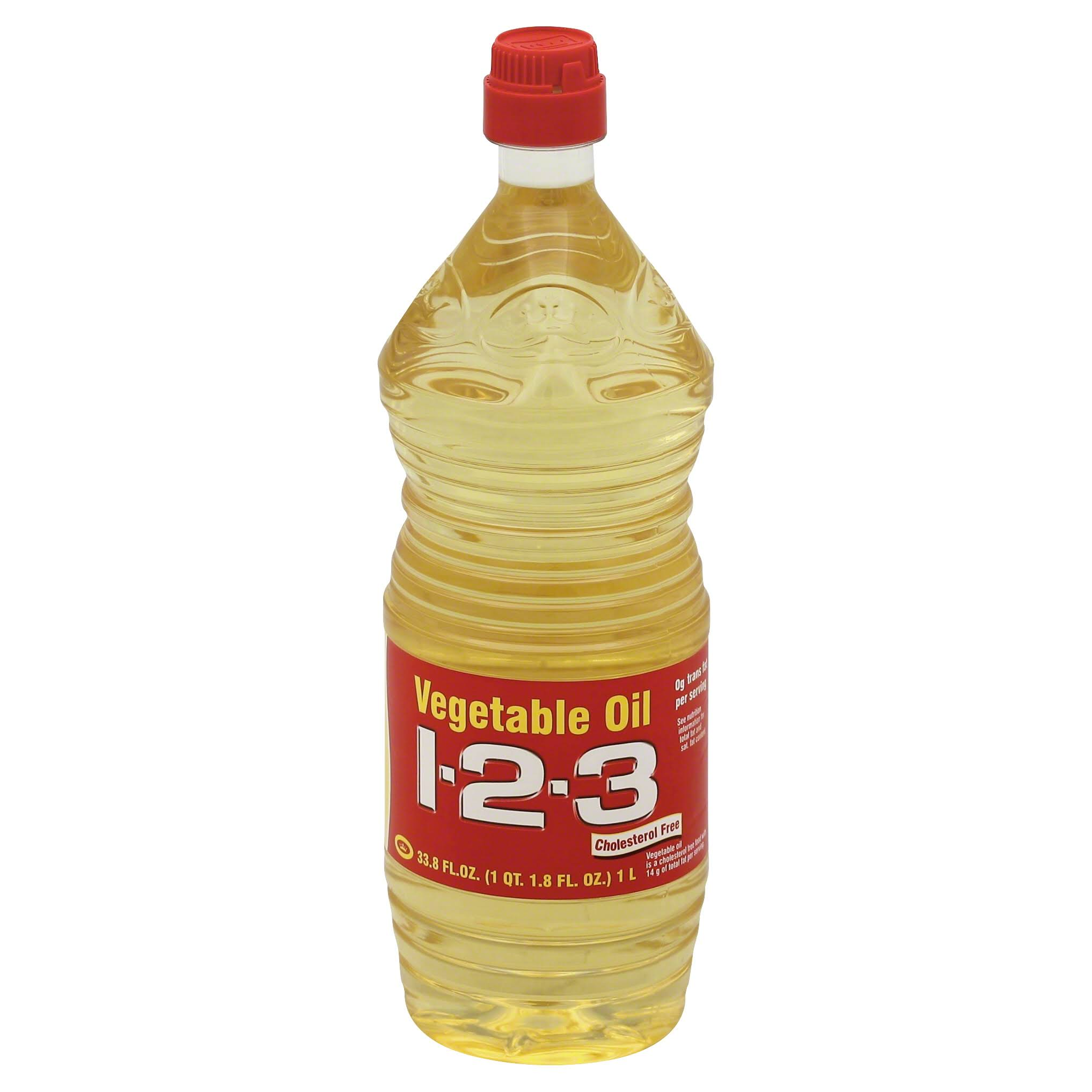 1 2 3 Vegetable Oil - 33.8oz