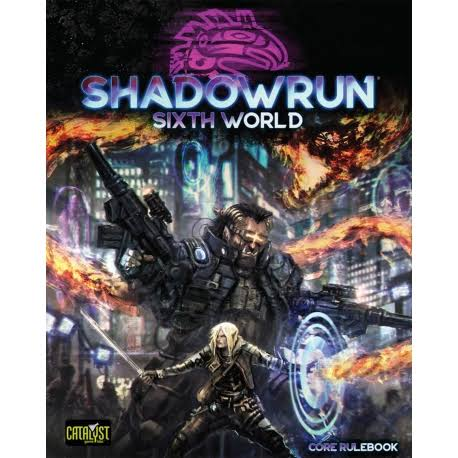 Shadowrun: 6E Core Rulebook Limited Edition