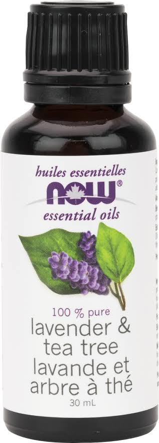 Now 100% Essential Oil - Lavender & Tea Tree, 1oz