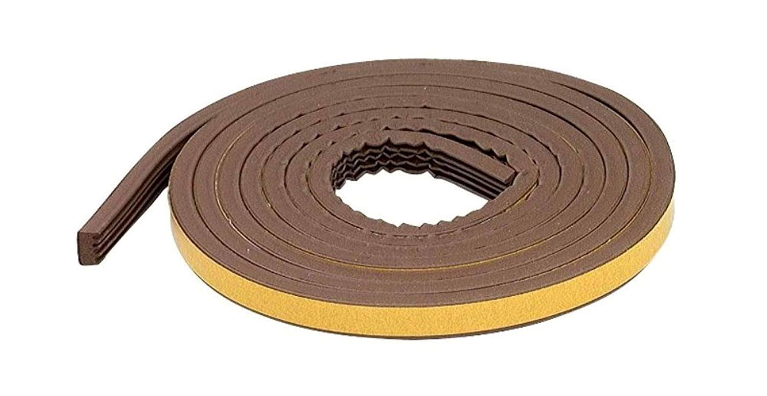 "M D Building Products 63644 All Profile Weatherstrip Tape - Brown, 5/16"" x 17'"