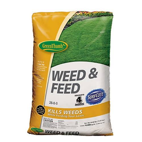 Knox Fertilizer Gt23291 Weed & Feed, 28-0-3, 15,000-Ft. Coverage
