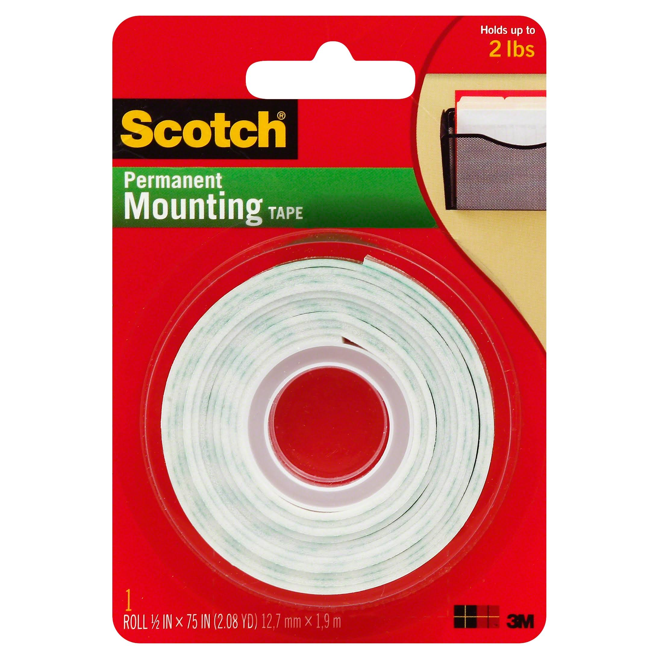 Scotch Mounting Tape - 5in x 75in