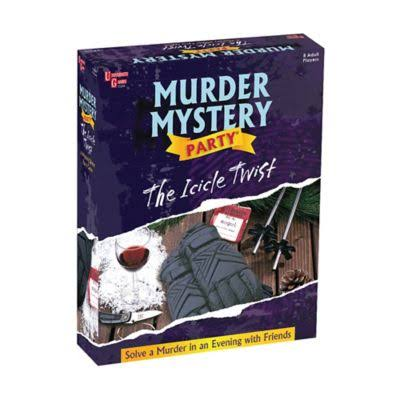 Murder Mystery the Icicle Twist Dinner Party Game
